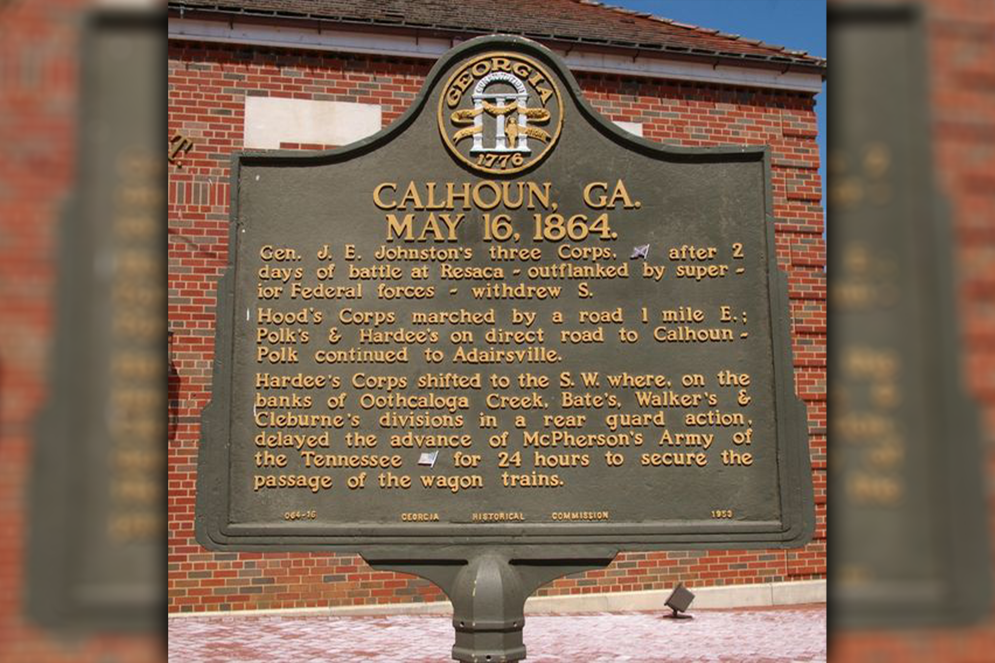 Historical Plaque